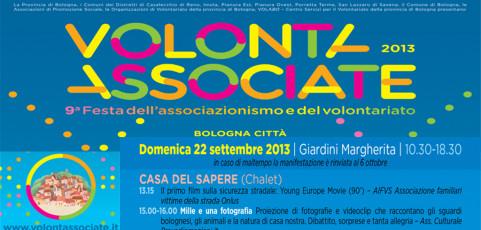 Provediemozioni partecipa a Volontassociate – Giardini Margherita a Bologna il 22 settembre 2013