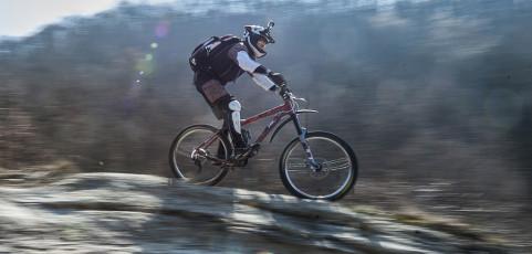 Mountain bike e fotografia