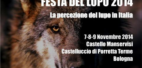 FESTA DEL LUPO 2014 – la presenza del lupo in Italia e la sua percezione 7-8-9 novembre 2014