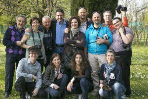 Gruppo Provediemozioni al workshop con Stefano Tealdi