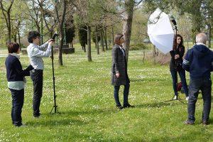 Set fotografico - effetto rim