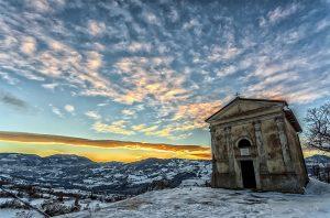 tramonto a San Rocco