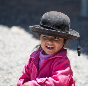 Perù - Bambina a Aguada Blanca
